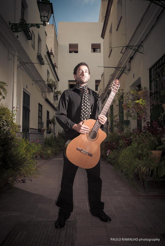 Niño la Isla - Fotografía músicos Sevilla