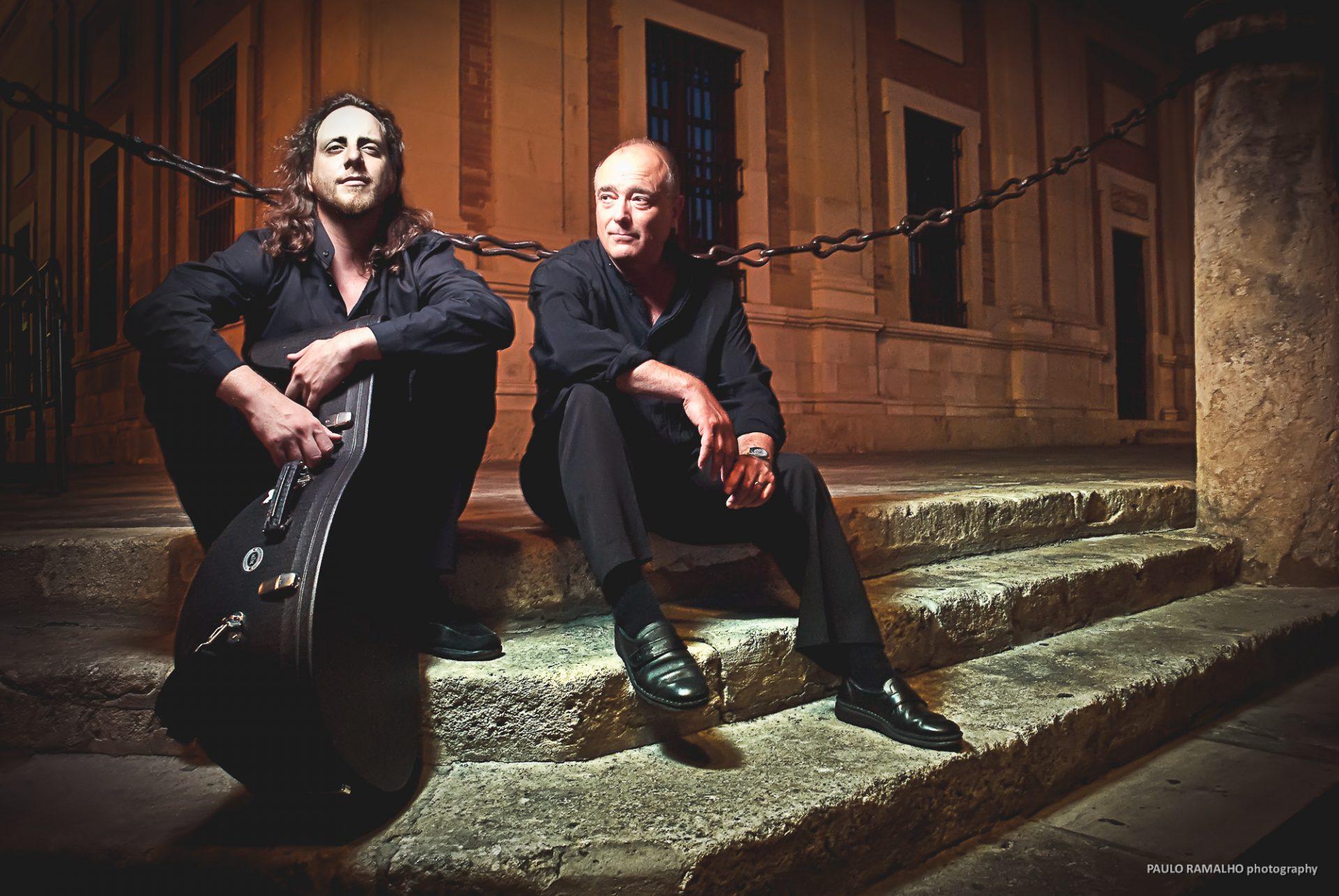 Fotografía de musicos en Sevilla