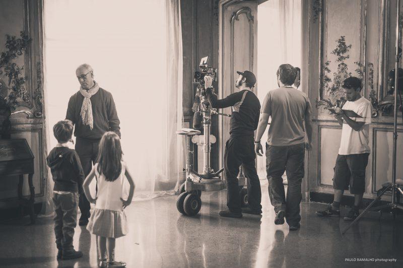 "Making Of ""Teaser"" película ""Ti Offro da Bere"", Italia."